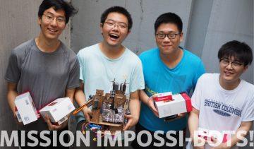 Pomme de Terror wins 2017 ENPH 253 Robot Competition