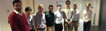L - R:  Sunmeet Chahal, Jasper Chan, Ryan Payne, Noah Tajwar, Julian Mentasti, Vladimir Novakovic, Timothy Wriglesworth, Justin Frank