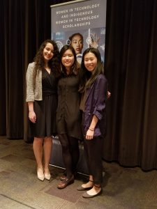L to R:  Parmis Mohaghegh, Esther Lin, Tiffany Quon